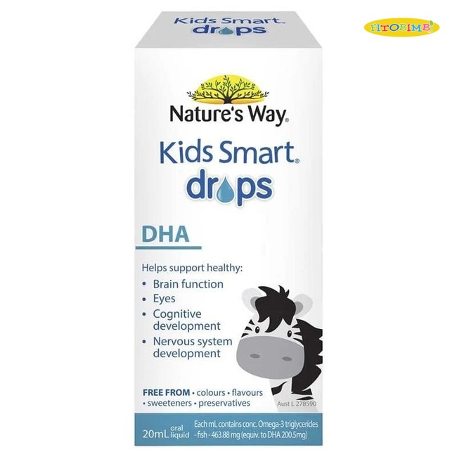 Nature's Way Kids Smart Drops DHA